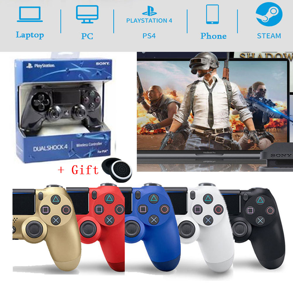 Для консоли контроллера Sony PS4, геймпад, беспроводной игровой Bluetooth Джойстик для ПК/PS4/PS3/Android Dualshock4, джойстик