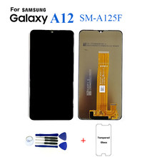 For Samsung A12 SM-A125 SM-A125F Display lcd Screen Replacement For Samsung A12 SM-A125F Digitizer Assembly Touch Screen Module