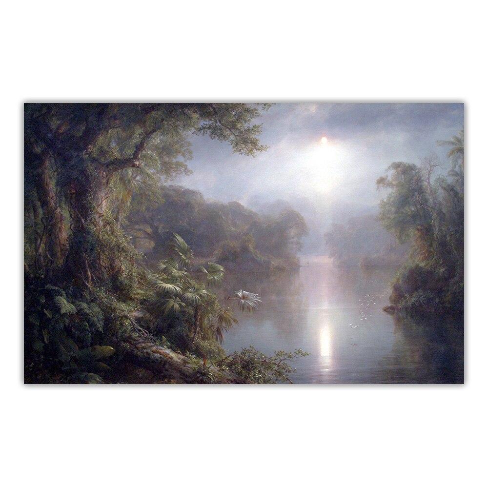 Купить художественная картина на холсте «церковь фредерика эдвина»