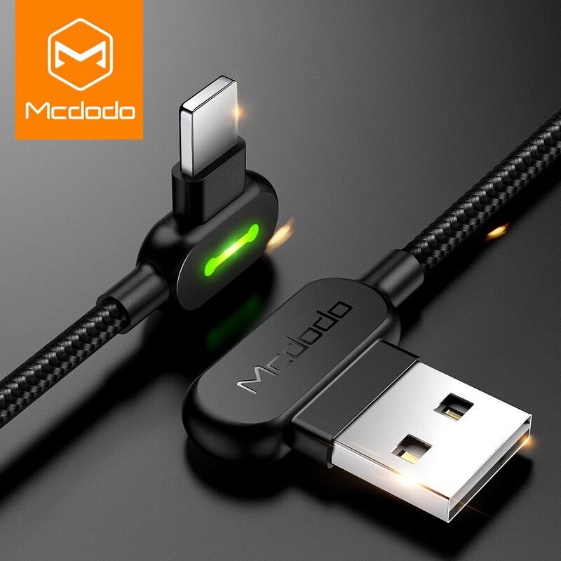 MCDODO 3 м Быстрый USB кабель для iPhone X XS MAX XR 8 7 6 5 6s S плюс кабель зарядки кабель мобильного телефона зарядное устройство Шнур Usb кабель для передач...
