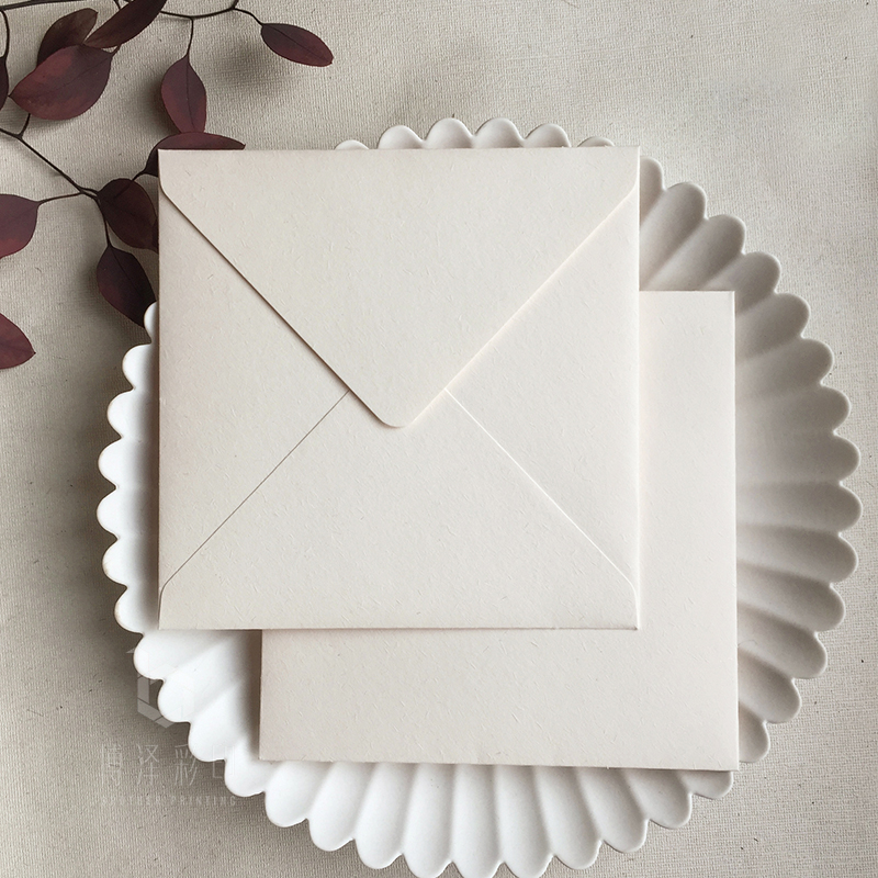 5pcs/pack Vintage Beige Envelopes Blank Paper Envelope For Wedding Party Messaage Card Postcard Bag Cards