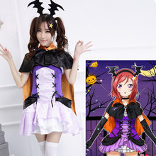 Love Live Maki Nishikino Cosplay Costume Halloween Love live swimming COS maid wear Party School uniform cosplay women uniform(China)