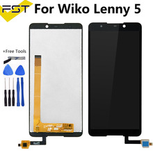 For Wiko Lenny 5 LCD Display and Touch Screen Digitizer Assembly 5.7 Inch For Wiko Lenny 5