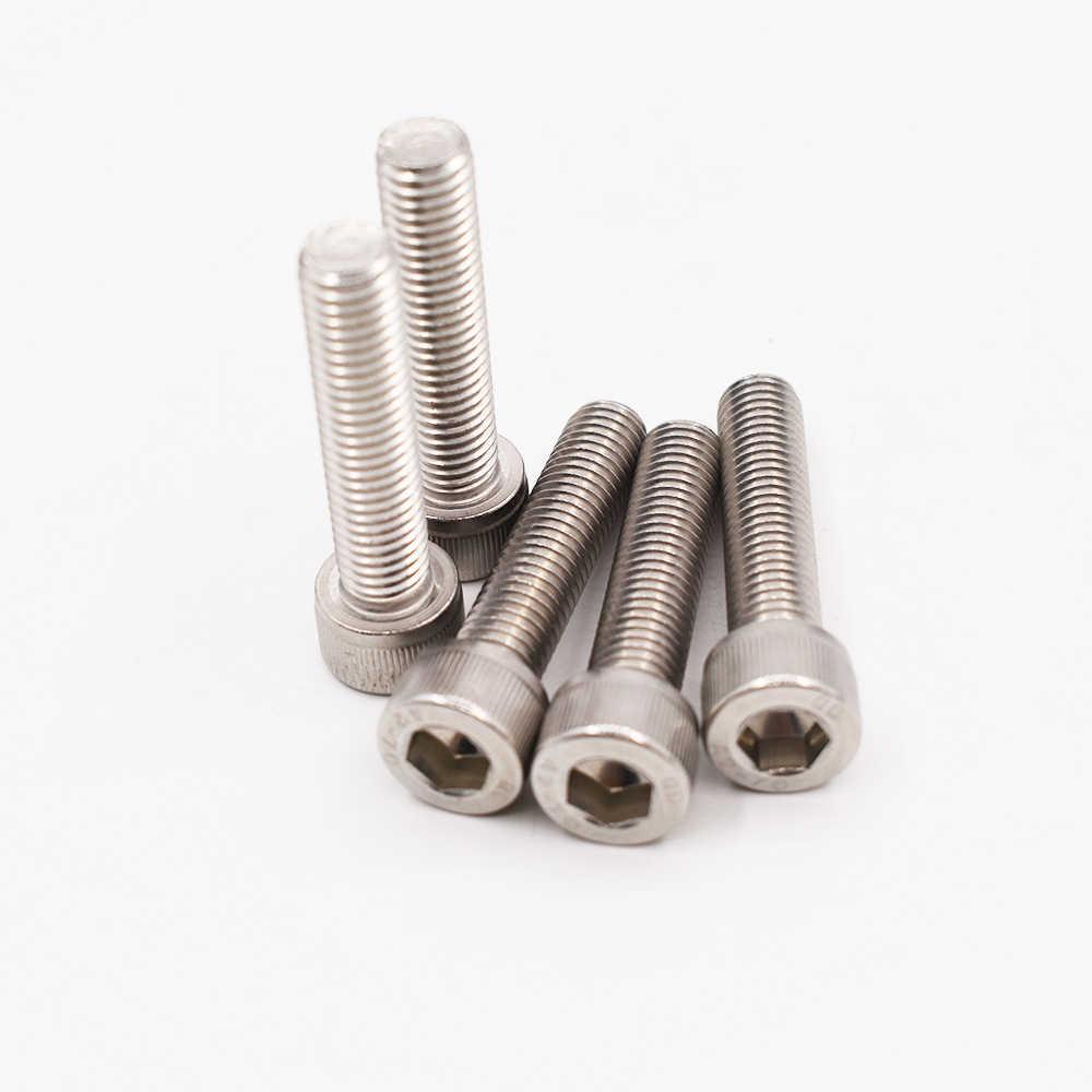 Cylinder Screws M8 DIN 912 Stainless Steel VA V2A V4A Hex Head