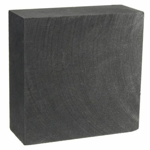 Eletrodo De Grafite Pirolítico Folha 50x50x20mm Molde de Grafite de Carbono