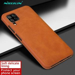 Image 4 - Nillkin צ ין ספר Flip עור Case כיסוי עבור Huawei P40 לייט נובה 7i נובה 6 SE