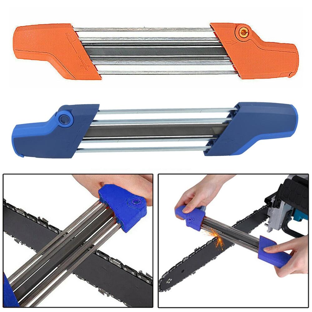 Chainsaw Sharpener Chain Sharpener Manual Chains Grinding Sharpen Grind Fits Sharpening Abrasive Tools 4.0 4.8mm File Diameter