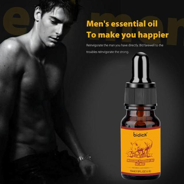 2021 New Male Vitality Massage Essential Oil Penis Enhancement Life Penis Sexy Delay Men Oil Enlargement Thicker Massage Oi P2G3 5