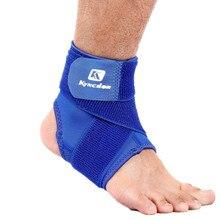 1 Pcs Professionale Supporto Della Caviglia di Alta Qualità Elastico Regolabile Anti Distorsione Alla Caviglia di Protezione di Sport Della Caviglia di Fitness Guardia Fasciatura