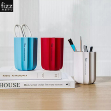 Pen-Holder Prismatic-Pen Fizz Container Multifunction Creative Fashion ABS for Potted