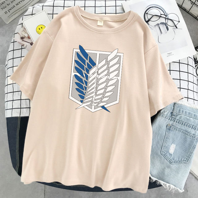 ATTACK ION TITAN THEMED T-SHIRT