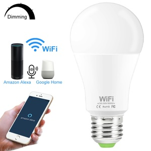 15W WiFi Smart Bulb E27 B22 110V 220V 2835 Dimmable Wireless WiFi Remote Control Lamp Light Work With Amazon Alexa Google Home