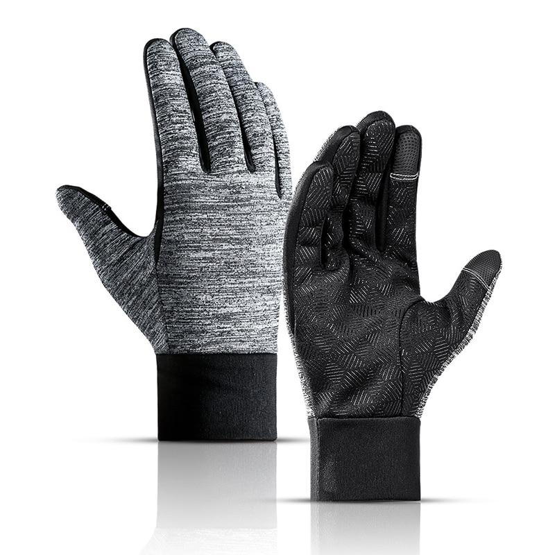 Outdoor Waterproof Touch Screen Ski Skiing Gloves Men Women Full Finger Thermal Fleece Warm Outdoor Sports Snowboard Gloves