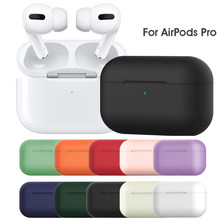 Silicone Case for Apple Airpods pro TWS Bluetooth Earphone soft Silicone Cover For Airpods 3 2019 Protective shockproof Cases(China)