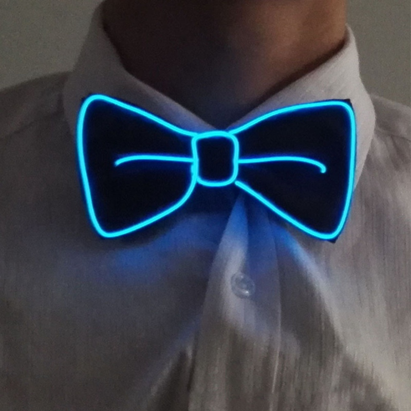 Glowing LED Bow Tie 12