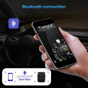 Junsun автомобильный OBD2 V1.5 ELM327 Bluetooth 4,0 Автомобильный диагностический сканер полный OBD 2 функции для Android IOS для Junsun DVD Радио