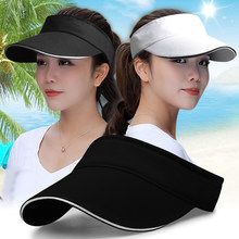 Summer sun hats for women Beach Sun Protect Sun Hat for Women Wide Brim UV Protect Sun Hat Beach Packable Visor ladies hats(China)