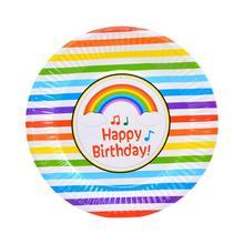 10 стиль 6 шт./упак. День рождения Свадьба одноразовые лотки для бумаг мультфильм вечерние принадлежности