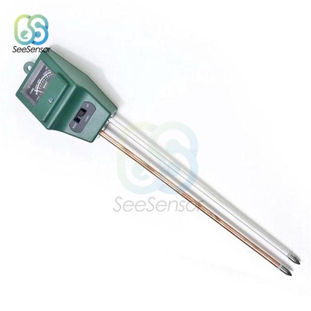 3 in 1 Soil Moisture Sunlight PH Meter Digital Tester for Plants Flowers Acidity Moisture Measurement Garden Tools