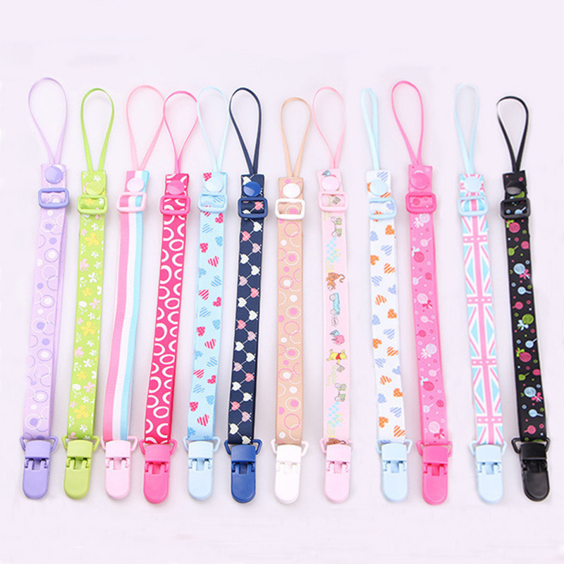 The New Baby Pacifier Clip Chain Dummy Holder For Nipples Children Pacifier Clips Pacifier Holder Adjustable Holder for Nipples|Pacifier| - AliExpress
