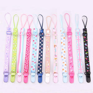 The New Baby Pacifier Clip Chain Dummy Holder For Nipples Children Pacifier Clips Pacifier