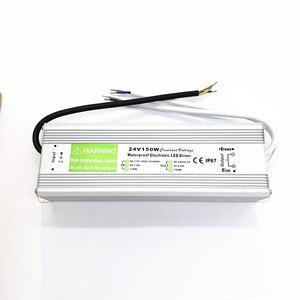 Водонепроницаемый IP67 Светодиодный драйвер AC dc 12V 24V 10W 20W 25W 30W 36W 45W 50W 60W 80W 100W 120W 150W источник питания для светодиодный светильник