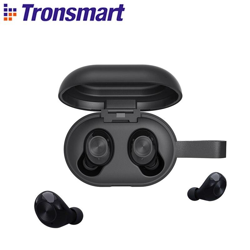 [Новейшая версия] Tronsmart Spunky Beat TWS Bluetooth наушники QualcommChip Tech APTX Беспроводные наушники с CVC 8,0