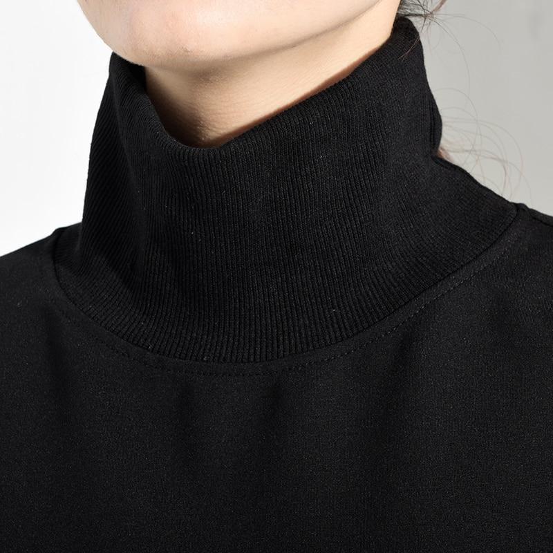 New Fashion Style Loose Fit Black Oversize Sweatshirt Fashion Nova Clothing