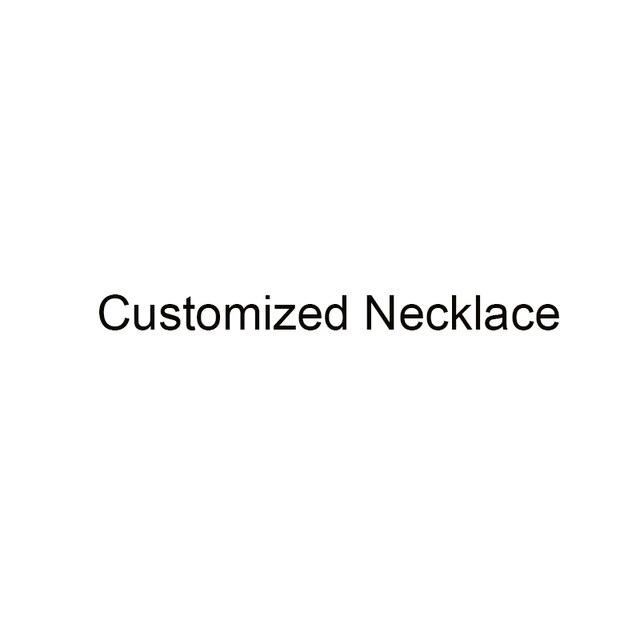 Personalizado quente personalizar colar de fotos para meninas femininas