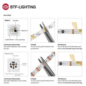 Image 5 - WS2815 DC12V WS2812B WS2813 RGB LED Strip Light Individually Addressable LED Lights Dual Signal 1m 5m 30 60 144 LEDs IP30 65 67