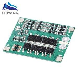 50 шт. 3S 25A Li-Ion 18650 BMS PCM плата защиты батареи BMS PCM с балансом для литий-ионного Lipo модуля аккумуляторной батареи
