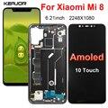 Amoled экран для Xiaomi Mi 8 Mi8 ЖК-дисплей сенсорный экран сменный дигитайзер в сборе для Xiaomi Mi 8 M1803E1A ЖК-экран