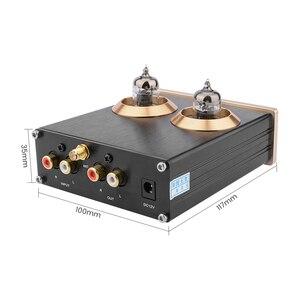 Image 2 - Aiyima Bluetooth 5.0 APTX Hifi 6J1 Ống Màu Preamp Bộ Khuếch Đại Âm Thanh Nổi Tiền Khuếch Đại Với Bass Treble Kiểm Soát Cho Nhà Âm Thanh Âm Thanh