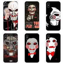 Soft Cases Capa For HTC Desire 530 626 628 630 816 820 830 One A9 M7 M8 M9 M10 E9 U11 U12 Life Plus Horror Saw Mask Man Terrible(China)