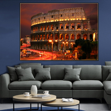 Canvas wall pictures Rome Colosseum ART Hoom Decor Cuadros Famous Building Posters A painting for the wall Art paintings Picture