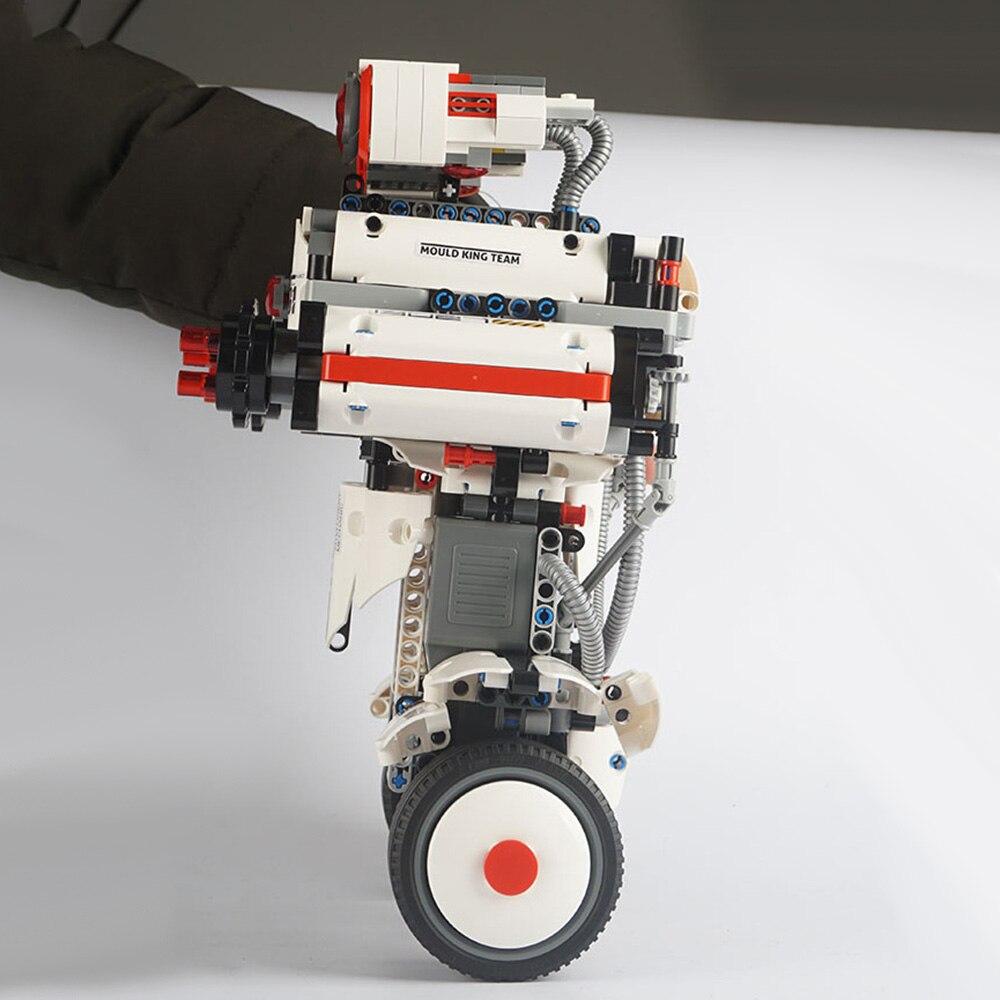 DIY Электрический робот пульт дистанционного управления строительные блоки программируемые Обучающие игрушки полуфабрикат RC Робот Модель ... - 3