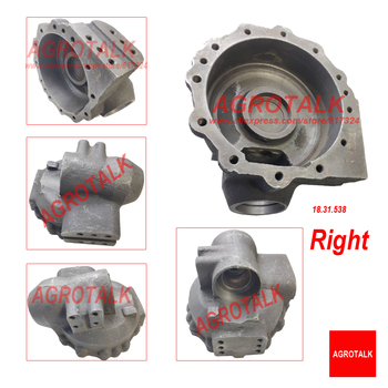 Left / right side teminial housing for front axle for Lenar LE254/274 with engine NJ385, Part number