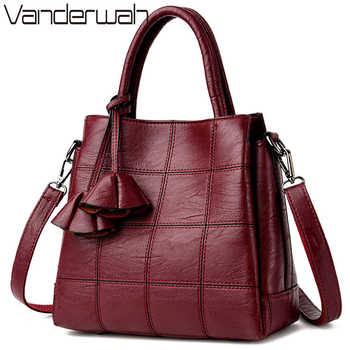 Sac Casual Tote Leather Luxury Handbags Women Bags Designer Handbags High Quality Ladies Corssbody Hand Bags For Women Bolsas - DISCOUNT ITEM  48% OFF All Category