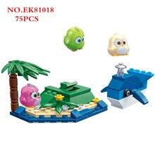 Small Building blocks Angry cute birds toys Playground Trick or treat pig submarine angry_birds model kids boys girls Ideas