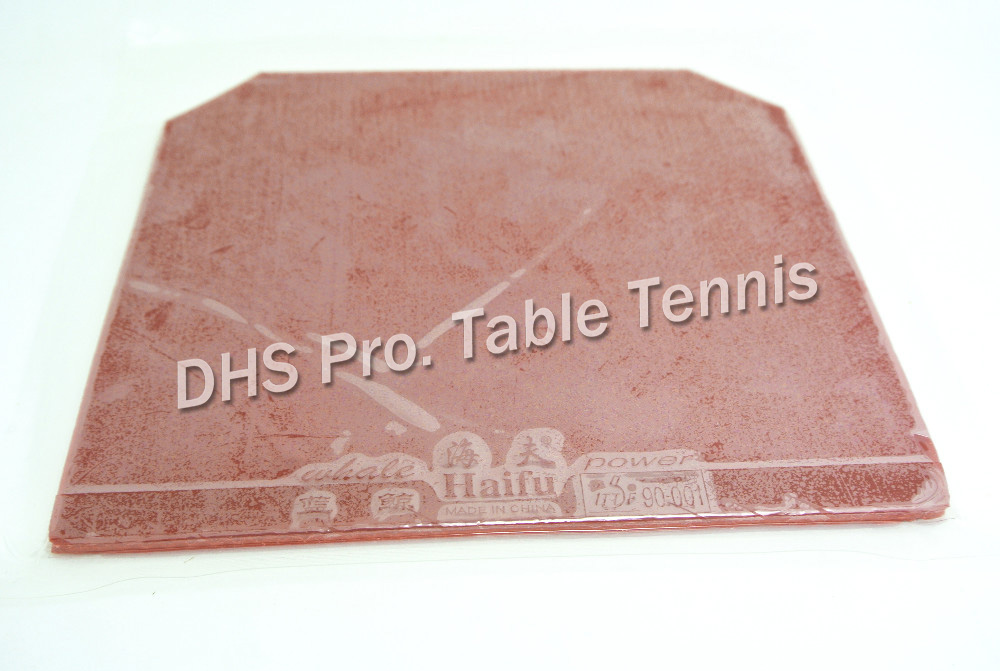 ITTF Approved High Quality HAIFU WHALE Sponge Table Tennis Rubber,Table Tennis Cover / Pingpong Rubber