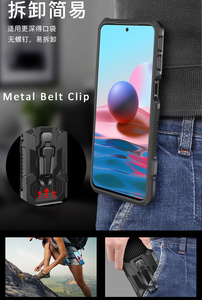 Image 3 - Drop resistance Armor Belt Clip Case For Motorola Moto G Play 2021 High impact Military Rugged Shield Cover