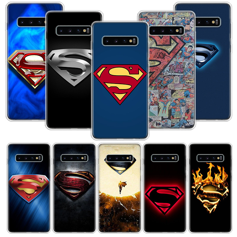 <font><b>Marvel</b></font> superman <font><b>Logo</b></font> <font><b>Case</b></font> for <font><b>Samsung</b></font> <font><b>Galaxy</b></font> A50 A70 <font><b>A30</b></font> A20E A10 A40 A51 A71 M30S A10S A20S A6 A7 A8 A9 + Plus 2018 Cover image