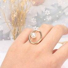 1 шт., винтажное полое Овальный Круглый кольцо для женщин, модные ювелирные аксессуары, милые тонкие кольца на кончик пальца, вечерние ювелирные изделия, подарки