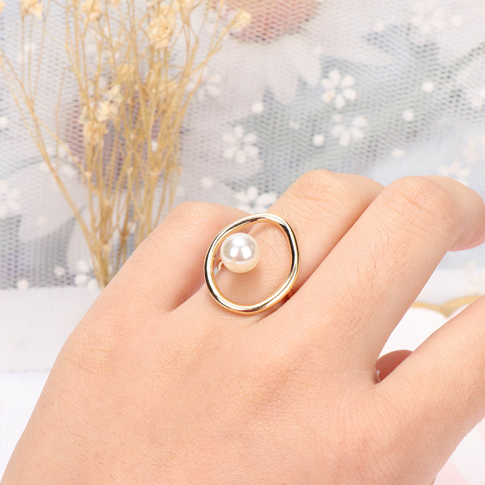 1pcs Vintage Hollow Oval Circle Ring For Women Fashion Jewelry Accessories Cute Thin Slim knuckle Joint Ring Party Jewelry Gifts
