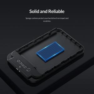 Корпус жесткого диска ORICO 2,5 дюйма SATA 3,0 к USB 3,0 5 Гбит/с 4 ТБ HDD SSD корпус с поддержкой UASP HD внешний жесткий диск коробка черный/белый