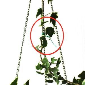 Image 4 - 15 متر حديقة سلك الثقيلة الأخضر المغلفة مصنع سلك رباط سلك التدريب حديقة بونساي المخرج سلك لعقد فرع 1.8 مللي متر * 15 متر