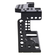 Camera Cage Video Stabilizer 1/4inch Screw Camera Cages With Cold Shoe Mount For Sony A7III/A7M3/A7R3 Cameras For Monitor kamerar 3 2 16 9 lcd viewfinder for video cameras slr cameras black red