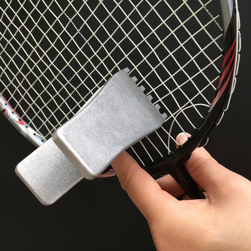 Badminton Clamp Sports Tennis Flying Gripper Game Racket  Stainless Steel Tool Badminton Accessories Racquette