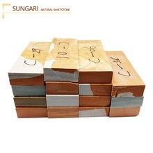 Натуральный приблизительный точильный камень songhua (sungari)