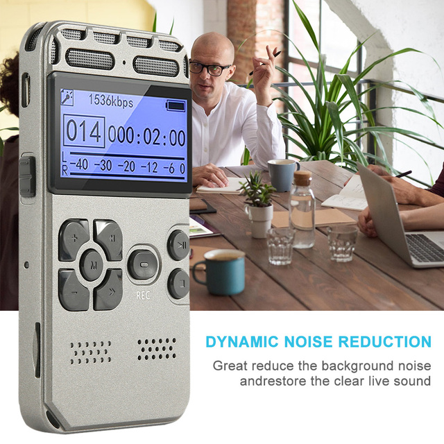 Voice-Activated Recording One-Button Record 8G Capacity 1